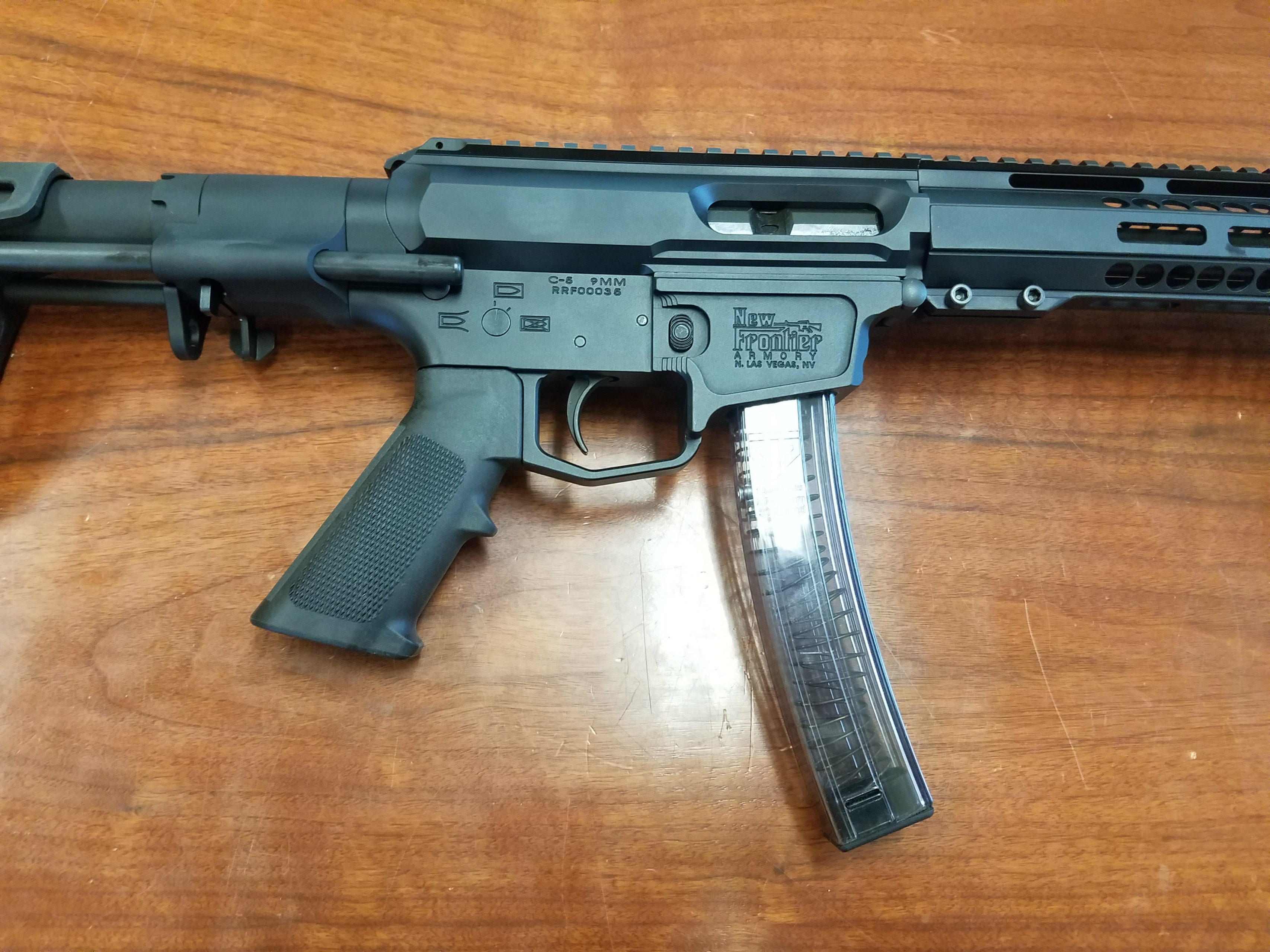 CT Other AR-MP5 hybrid 9mm by New Frontier Armory - New